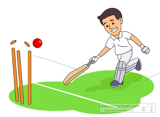 550x400 Cricket Clipart Outdoor Sport