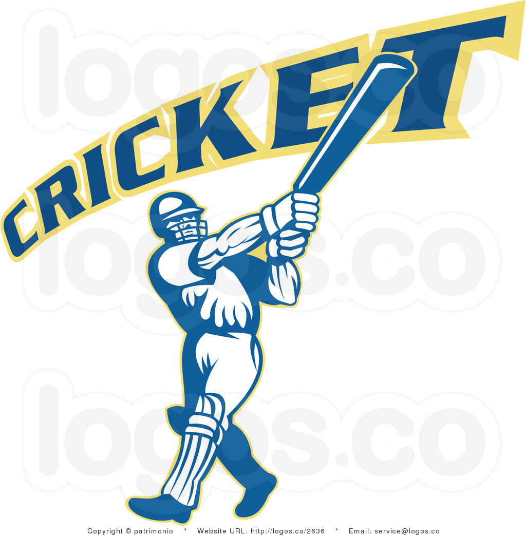 1024x1044 Cricket Clipart Royalty Free Vector Cricket Player Logo 8 By