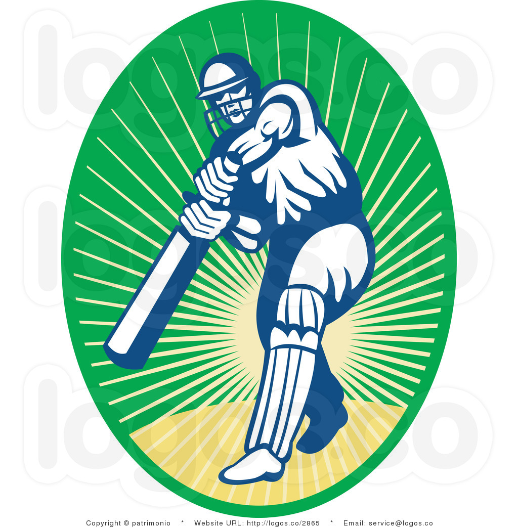 1024x1044 Cricket Clipart Sports Clip Art Of A Cricket Batsman With Text By