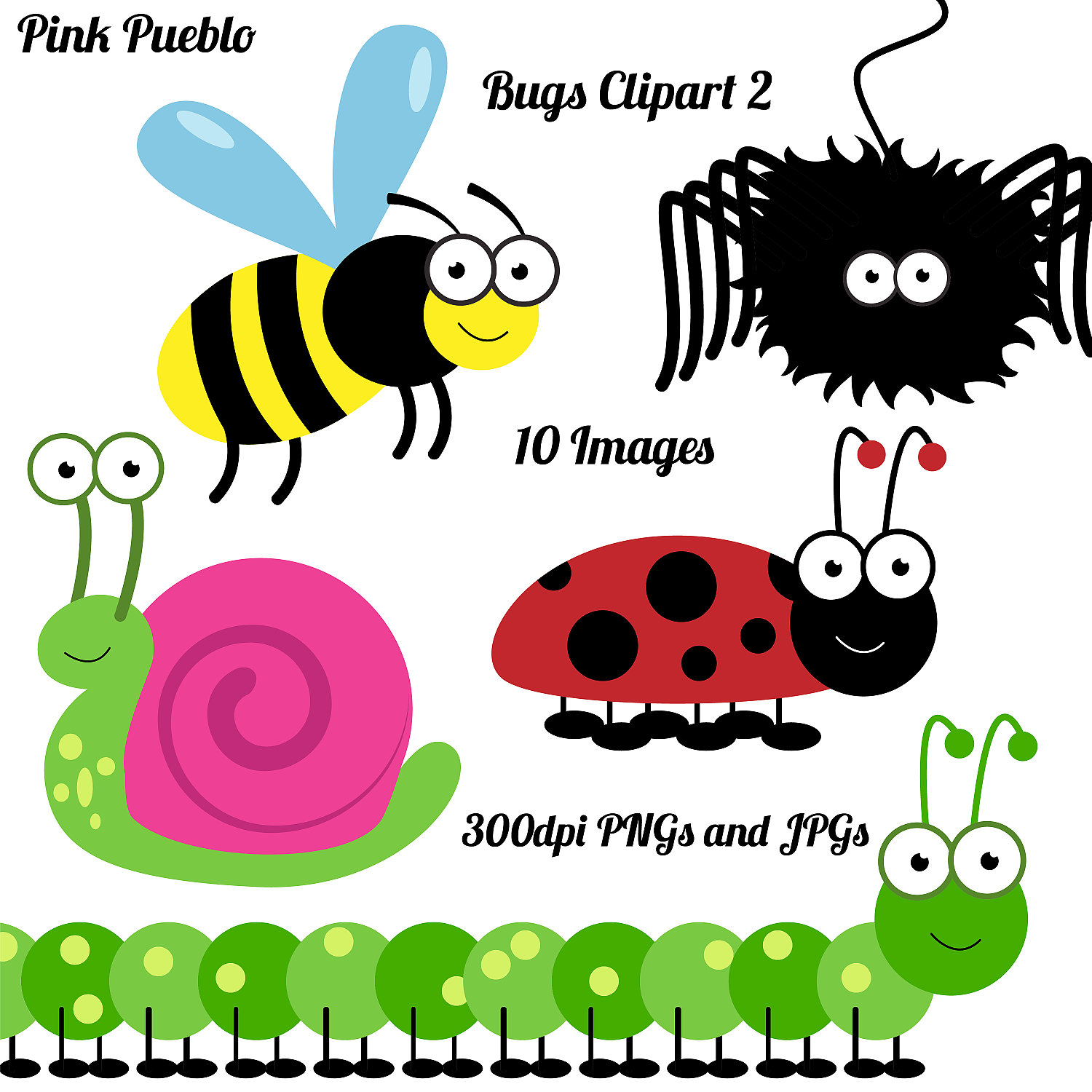 1500x1500 Insects Clip Art And Cricket