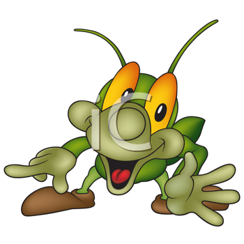 350x350 Royalty Free Cricket Clip Art, Insect Clipart