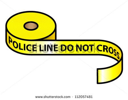 450x351 Crime Tape Clipart 2021265