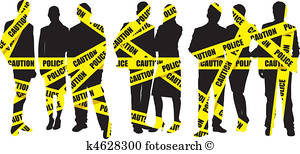 300x154 Police Tape Clipart And Illustration. 654 Police Tape Clip Art