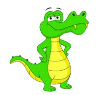 210x195 Crocodile Clipart Animated