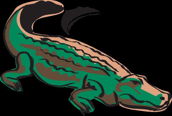 600x407 Crocodile Cliparts