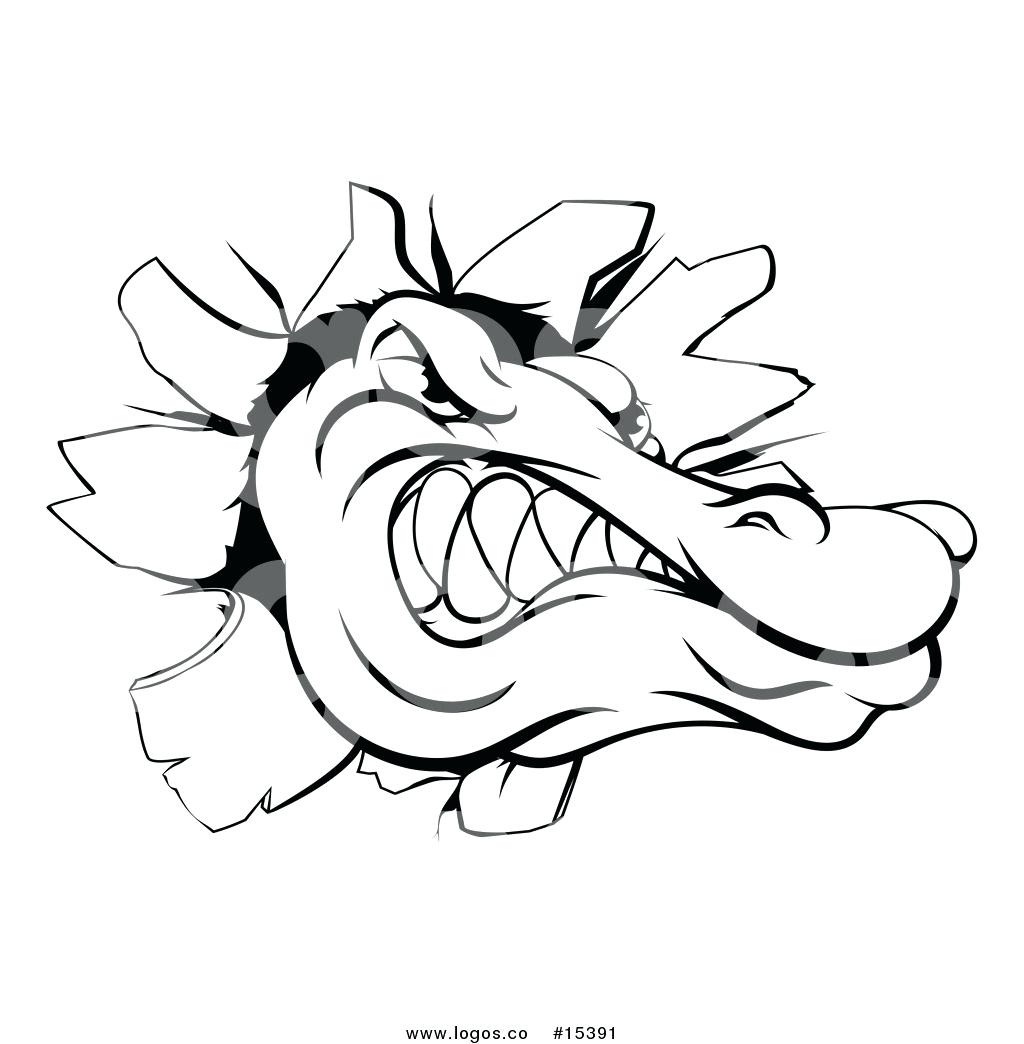 1024x1044 Royalty Free Clip Art Illustration Of A Cartoon Black And White