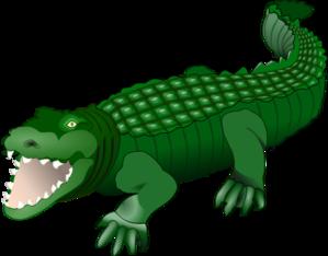 299x234 Croc Clip Art