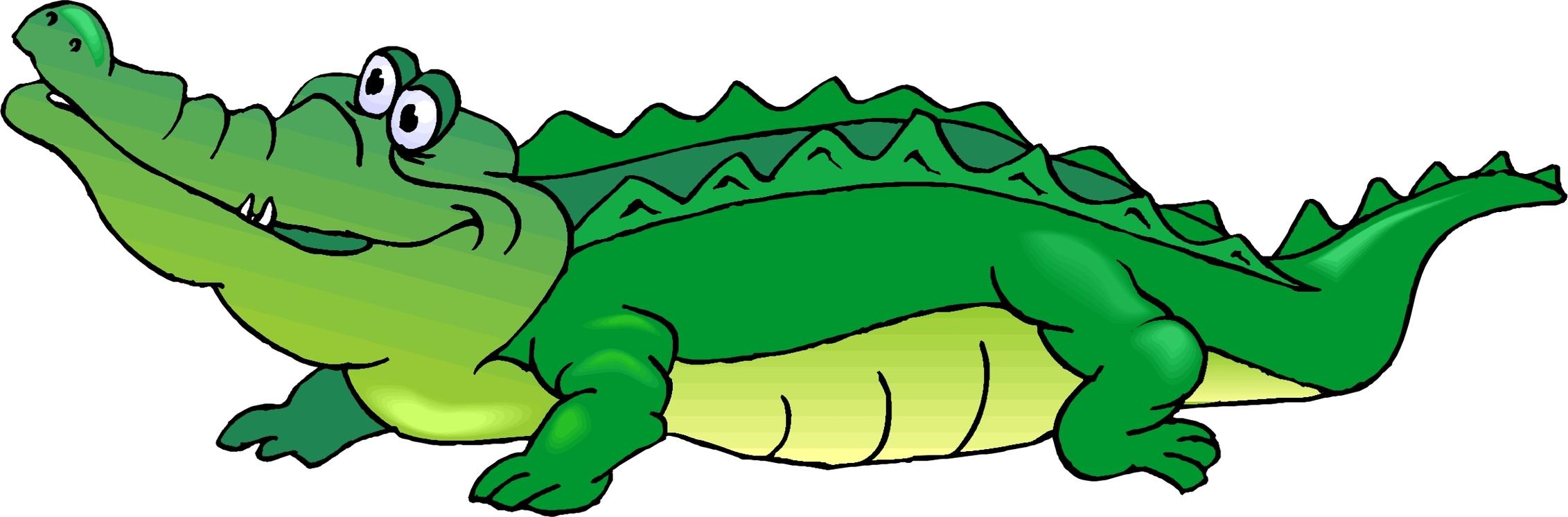 2263x746 Crocodile Clipart Gator