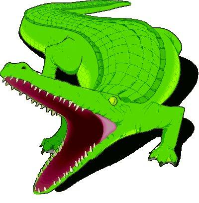 400x408 Amazing Aligator Clipart