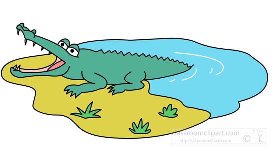 550x304 Reptile Clipart Crocodile Jumping Out Of Water Classroom Clipart