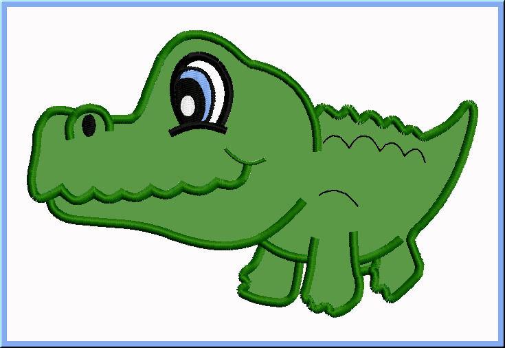 735x506 Drawn Crocodile Cute