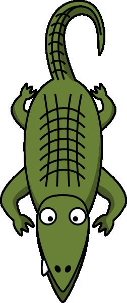 252x598 Crocodile Alligator Outline Clipart Kid 2