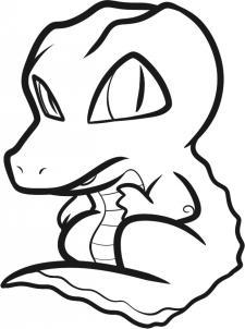 225x302 Drawn Crocodile Kid
