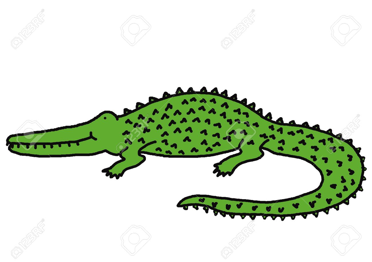 1300x917 Drawn Crocodile World's Good