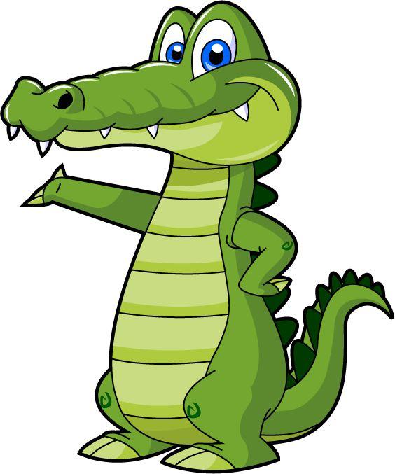 564x677 Alligator Clipart Kid