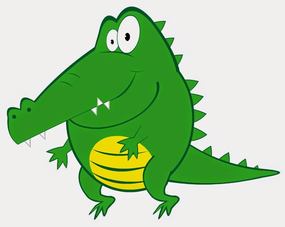 993x789 Alligator Clipart Kid