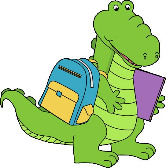 543x550 Alligator Clipart Kid