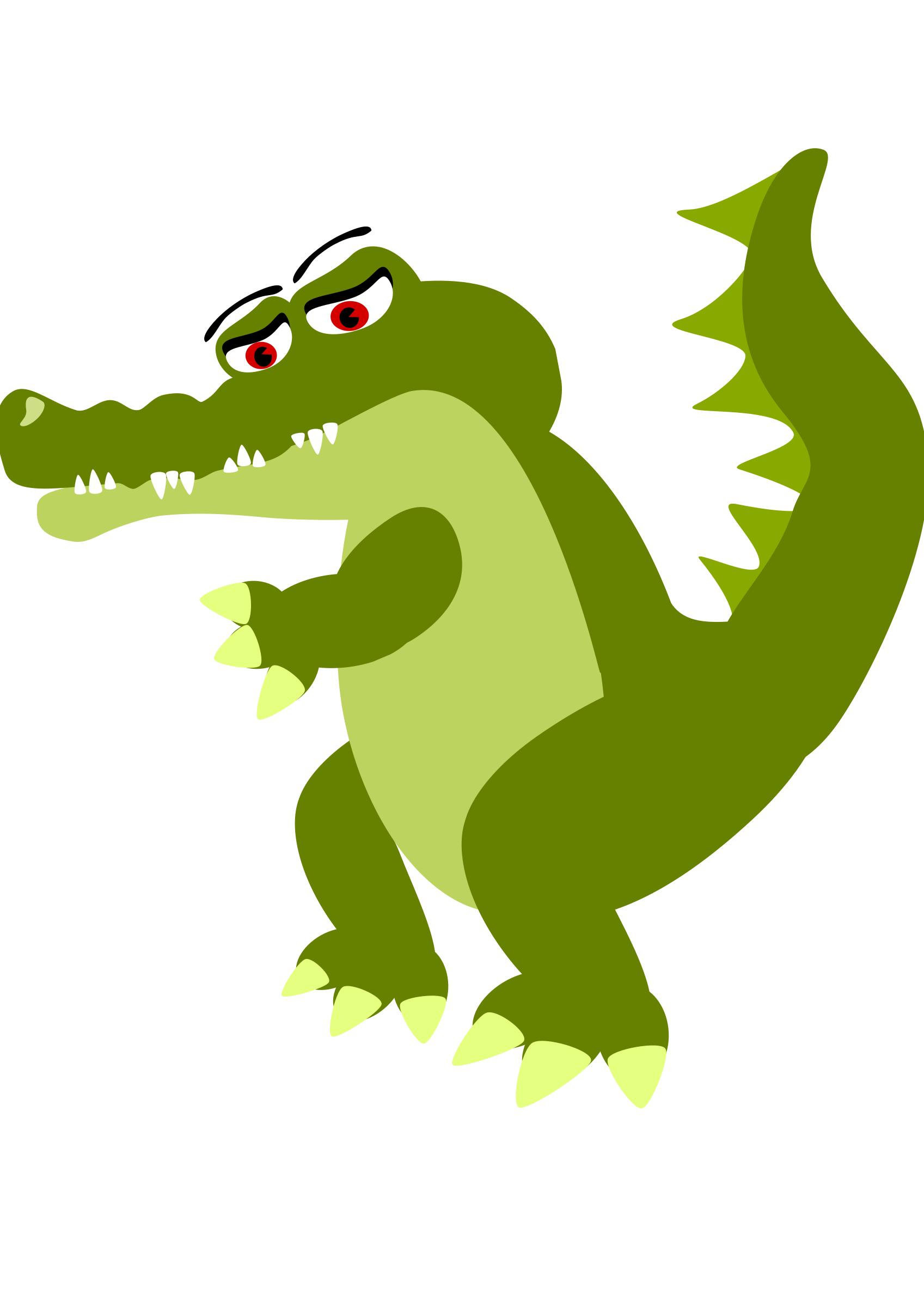 1697x2400 Musical Crocodile Icons Png