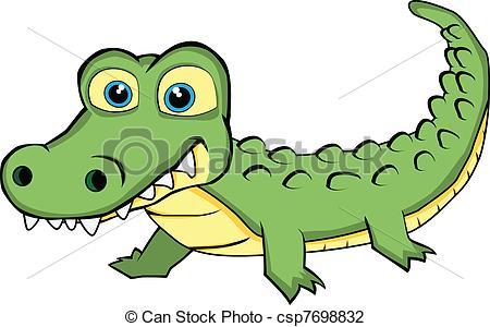 450x300 Clipart Crocodile