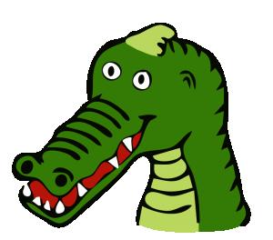 300x264 Crocodile Clip Art Download