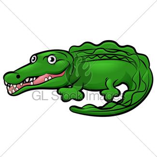 325x325 Crocodile Or Alligator Cartoon Gl Stock Images