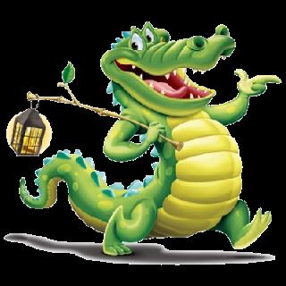 320x320 Crocodile Clipart Dock