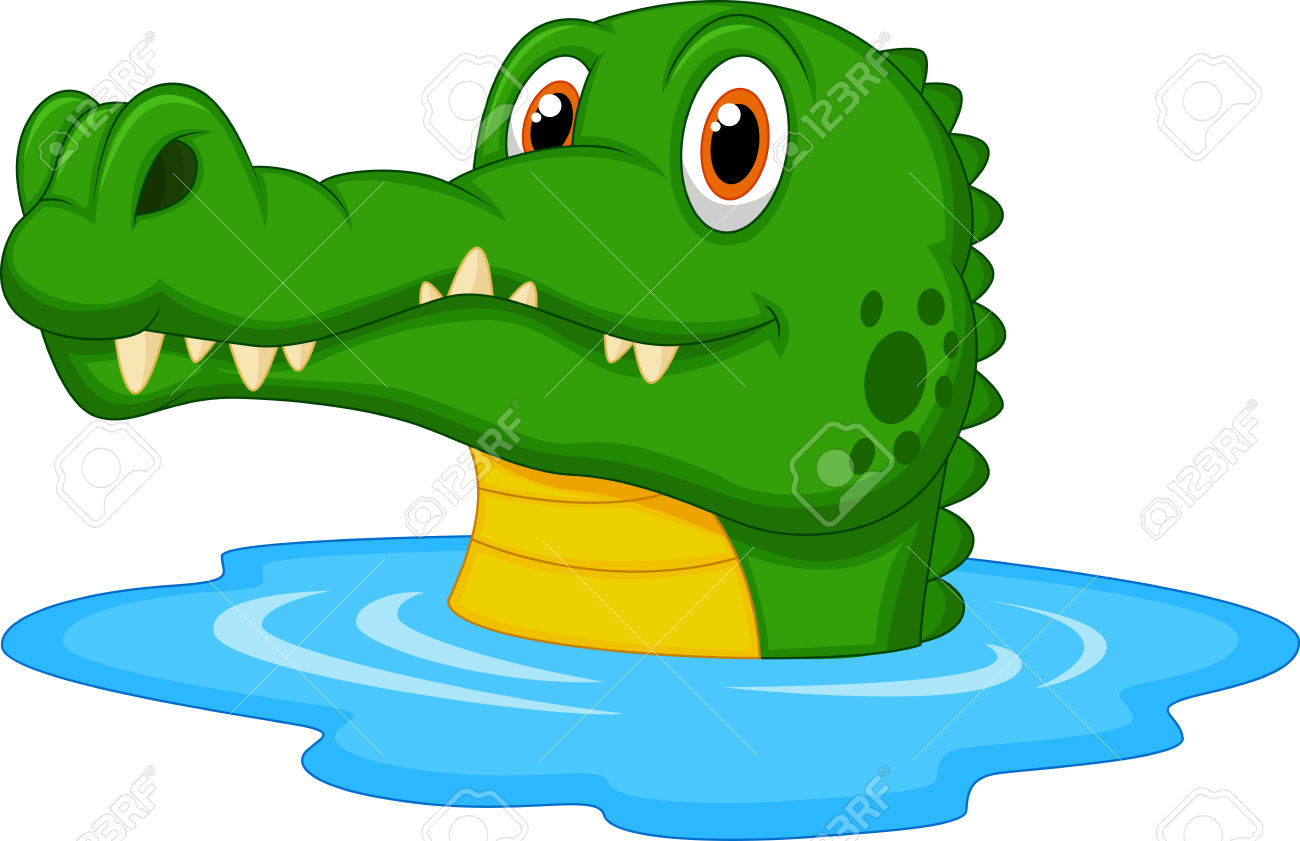 1300x841 Crocodile Clipart Water Clipart