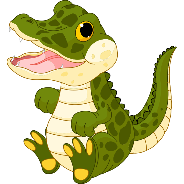 600x600 Little Crocodile Crocodile, Clip Art And Scrapbook