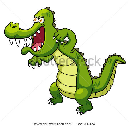 450x442 Saltwater Crocodile Clipart