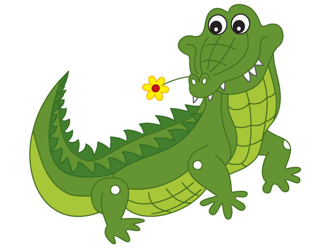 680x511 Vector Crocodile Clipart, Explore Pictures
