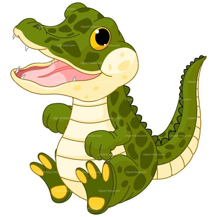 736x736 Crocodile Clipart Baby Alligator
