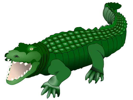 555x416 Crocodile Free Alligator Clipart Clip Art Pictures Graphics