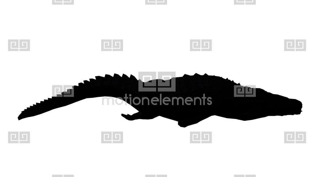 1024x576 Crocodile Attack Wallow Sketch Silhouette,dangerous Animals Turn