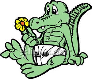 300x259 Baby Crocodile