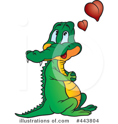 400x420 Crocodile Clipart
