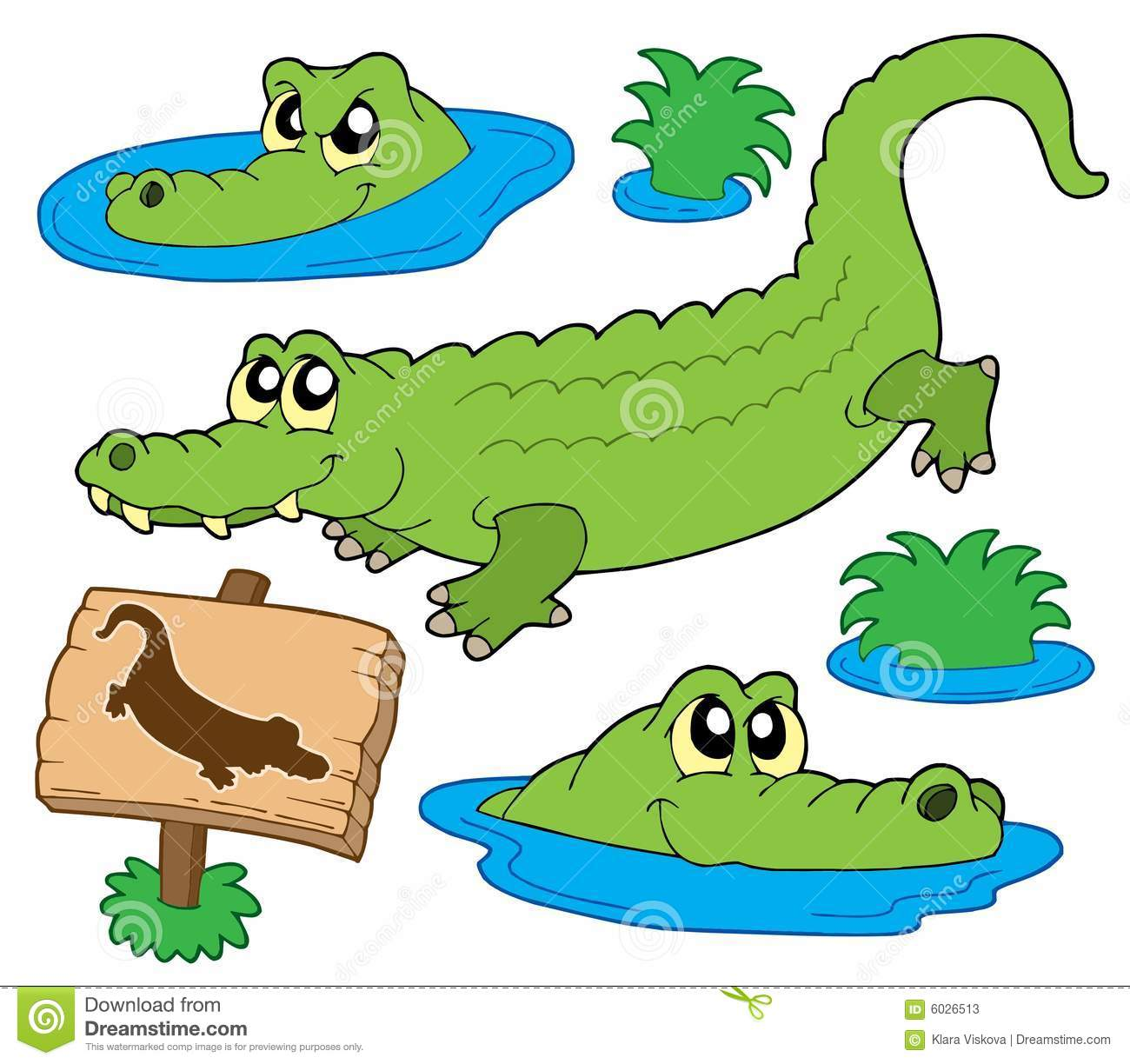 1300x1224 Crocodile Clipart Three