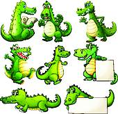 170x164 Royalty Free Crocodile Clip Art