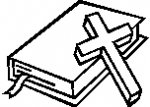 150x107 Cross And Bible Clipart Collection