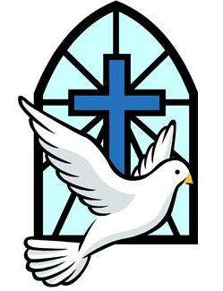 Cross And Dove Clipart
