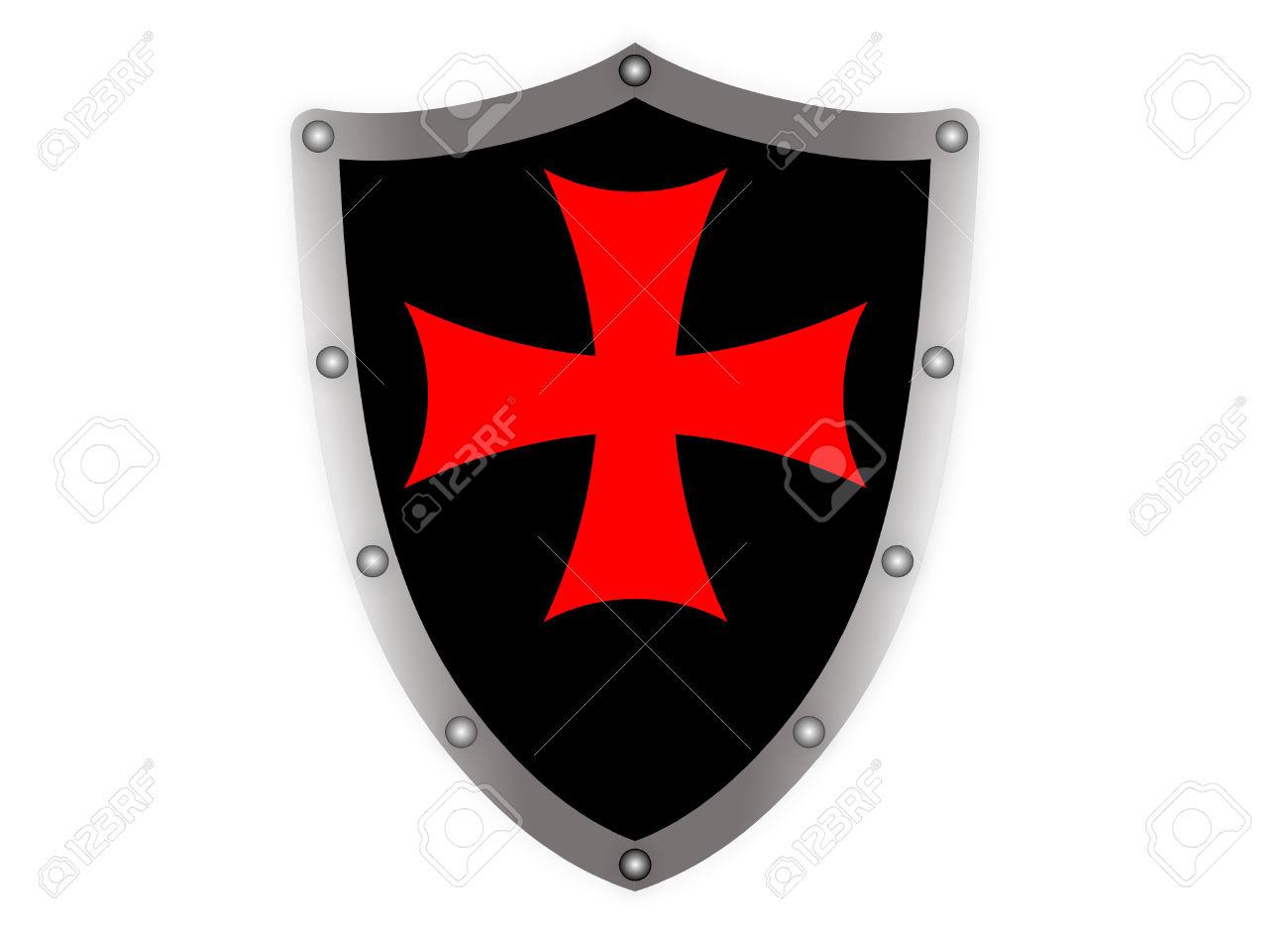 1300x942 Shield Clipart Templar