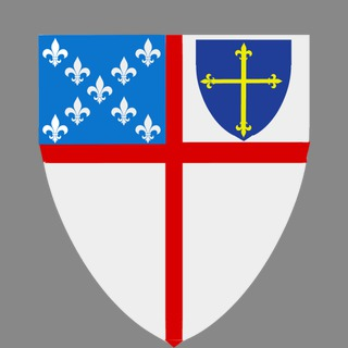 320x320 St. George's Cross And Shield With An Anglican Coat Of Arms