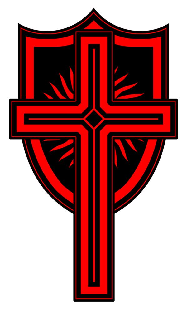 600x1006 Tribal Cross And Shield By Diablounderwrld