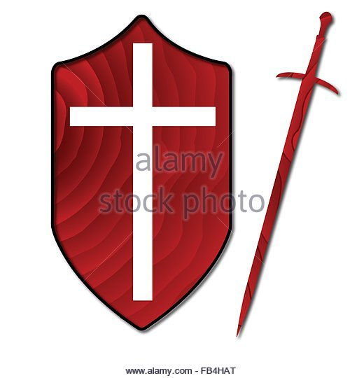 520x540 White Shield With Red Cross Stock Photos Amp White Shield With Red