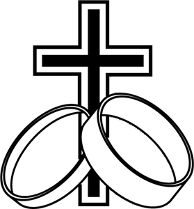 279x300 Cross W Rings Free Images