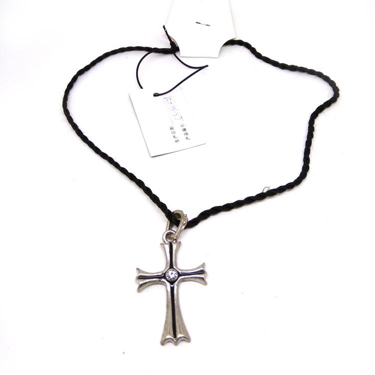 750x750 Silver Baseball Bat Cross Necklaces,jesus Cross Pendant Jewelry