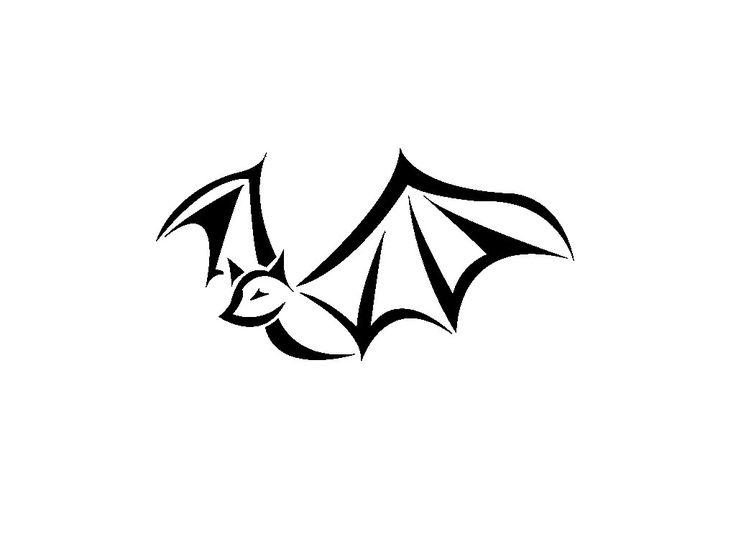 736x552 Bat Clipart Tatoo