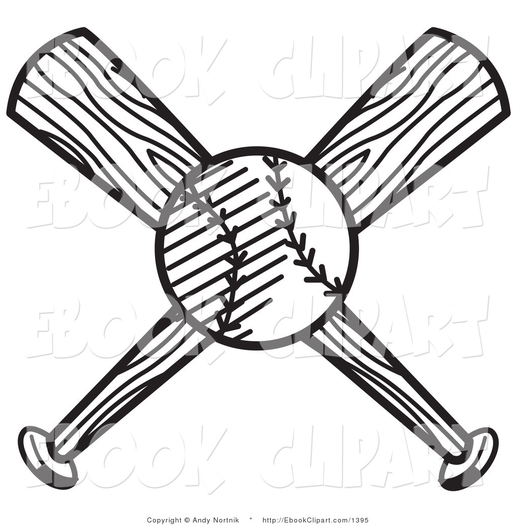 1024x1044 Baseball Bats Clipart Black And White