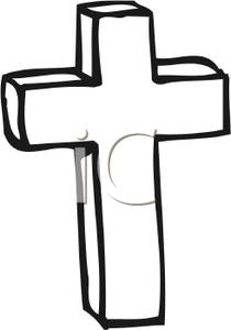 210x300 Catholic Cross Clip Art Black And White Clipart