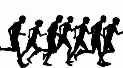 400x224 Running Clipart
