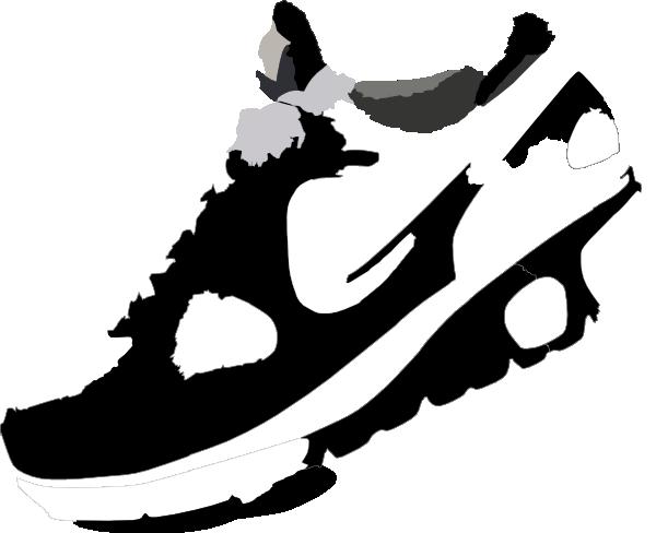 600x488 Running Clipart Running Shoes Clipart
